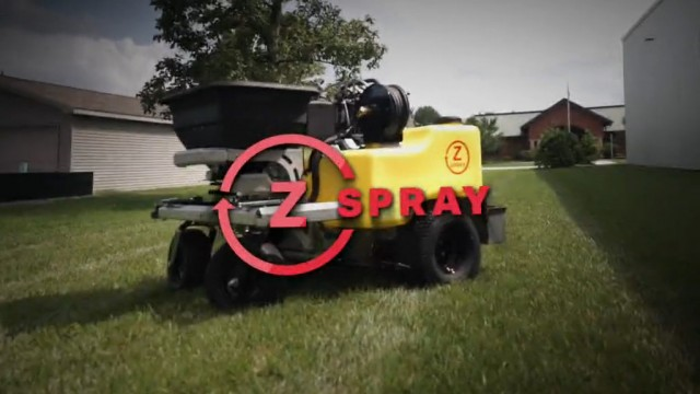 Z-Spray Z-Max sizzle reel